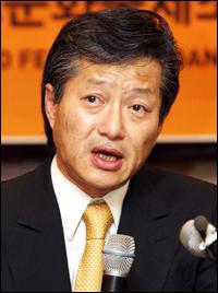 Choi at Press Conference