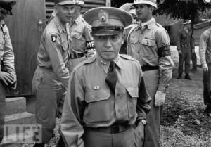 Time photo of Choi, Duk-shin 1953 Korean Armistice