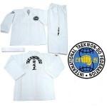 I.T.F. color belt & junior black belt uniform