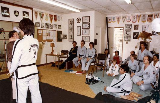 Photoshoot at Sabree Taekwon-Do in , CA USA