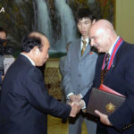 USA Taekwon-Do Master Honored in North Korea