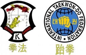 IKKA Logo & Kanji for Kenpo ITF Logo & Kanji for Taekwon